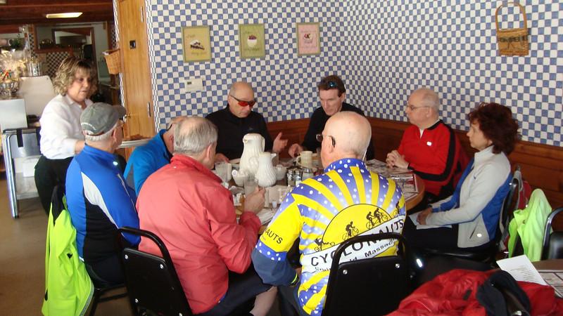 Breakfast at Houle's Restaurant