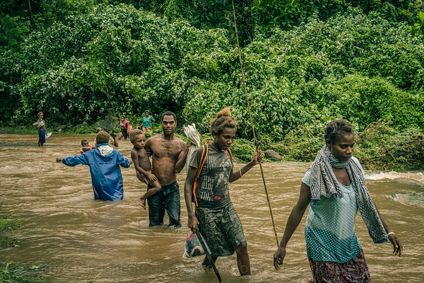 Tom Richards, Vanuatu, Tanna, 2017, Cyclone Cook, Flooded River 3