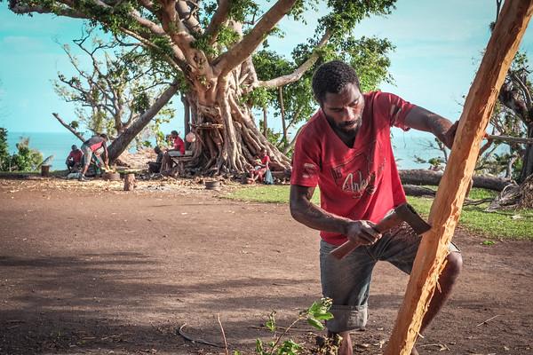 Vanuatu, Tanna, Lolumpaeu, Sandalwood