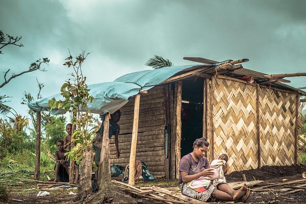 Vanuatu, Tanna, Lolumpaeu, Cyclone Pam 34