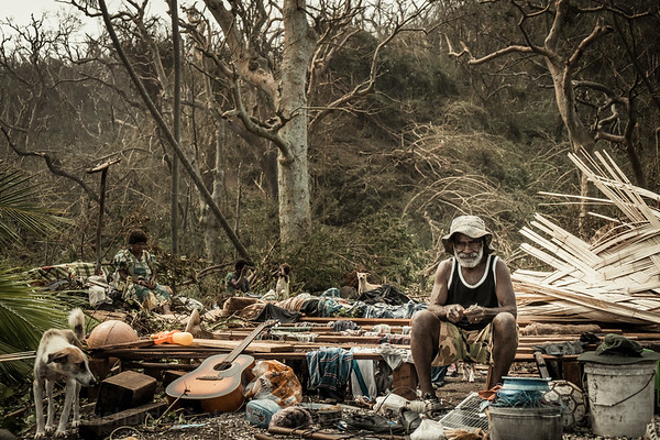Vanuatu, Tanna, Enefa, Cyclone Pam 2