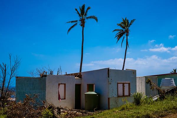 Vanuatu, Tanna, Isangle, Cyclone Pam 9