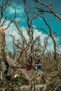 Vanuatu, Tanna, Enefa, Cyclone Pam 4