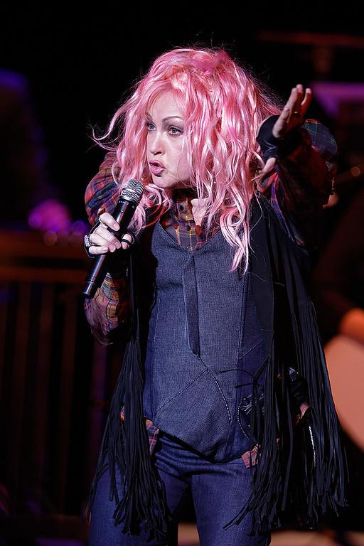 . Cyndi Lauper live at The Michigan Theater  on 5-14-2016.  Photo credit: Ken Settle