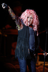 Cyndi Lauper live at The Michigan Theater  on 5-14-2016.  Photo credit: Ken Settle