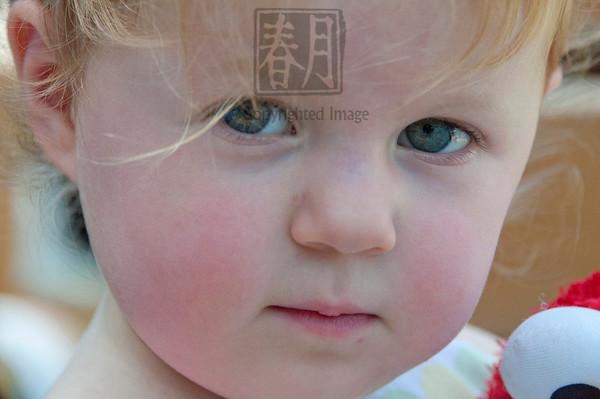 Toddler Candid Portrait