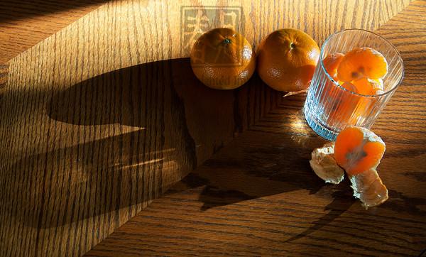Honey Tangerines Sunny Morning