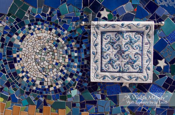 A Visible Melody' Wall Tapestry