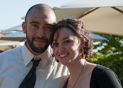 David & Blythe at Kristen & Kenny's Wedding Reception ~ May 26, 2012