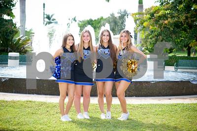 Cypress Bay Cheerleaders 2016