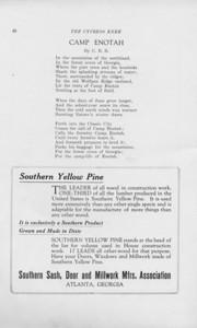 "The Cypress Knee, 1925, ""Camp Enotah"", C. B. B., ""Southern Yellow Pine"", pg. 40"