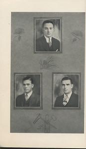 The Cypress Knee, 1929, Seniors, A. K. Thurmond Jr., W. A. Nesbitt, J. B. Lattay, pg. 8
