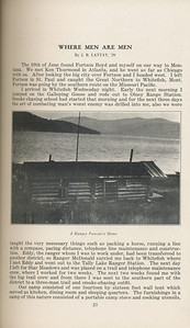 """The Cypress Knee, 1929, """"Where Men are Men"""", J. B. Littay, """"A Hungry Forester's Home"""", pg. 23"""