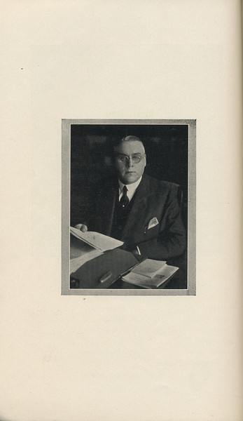 The Cypress Knee, 1929, Dr. Andrew M. Soule, Dedication, pg. 6