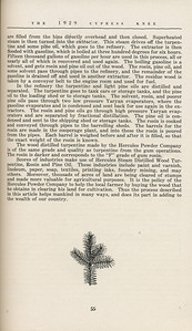 """The Cypress Knee, 1929, """"From Stumps to Rosin"""", R. F. Brown, pg. 55"""