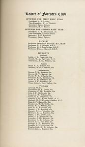 "The Cypress Knee, 1929, ""Forestry Club Roster"", J. B. Lattay, W. A. Nesbit, James Spiers, M. T. Brown, A. K. Thurmond Jr., Fordson Boyd, R. D. Franklin, Thomas D. Burleigh, L. E. Sawyer, K. S. Trowbridge, Dupree Barrett, W. G. Wallace, T. H. Brown, M. T., W. P. David, S. A. Head, Robert Titus, W. S. Atwood, H. R. Chambliss, C. M. Clements, J. F. Cole, J. W. Cooper, E. S. Gates, J. G. Grozine, W. L. ackett, J. P. Hale, W. B. Henderson, W. C. Henry, H. S. Holt, J. F. Manley, E. L. Massey, S. L. McCrary, I. W. Miller, J. B. Miller, J. H. Rasnake, C. A. Rowland, C. C. Stancil, J. D. Strange, A. L. Venable, N. E. Weatherford, James Turner, pg. 11"