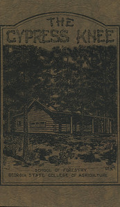 The Cypress Knee, 1929, Front Cover