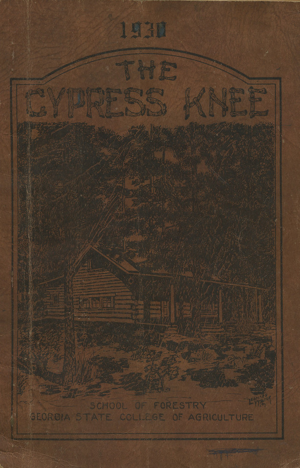 The Cypress Knee, 1930, Front Cover