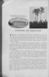 The Cypress Knee, 1931, Foreword and Dedication