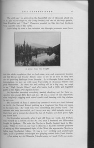 "The Cypress Knee, 1931, ""A Georgia Hobo in Idaho"", J. H. Rasnake, ""A Scene from the Freight"", pg. 27"