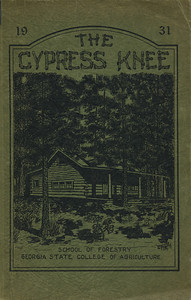 The Cypress Knee, 1931, Front Cover