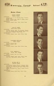 The Cypress Knee, 1934, Senior Class, Ernest Hinson, W. Lewis Lane, Frank M. Langford, Addison B. Lyon, Rex D. McCord, pg. 15
