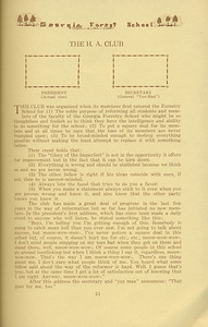 """The Cypress Knee, 1934, """"The H. A. Club"""", pg. 51"""