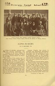 The Cypress Knee, 1934, Alpha Xi Sigma, R. D. McCord, pg.31