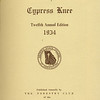 The Cypress Knee, 1934, Title Page