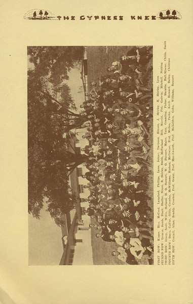 The Cypress Knee, 1934, Photo of Forestry Students, pg. 12