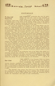 The Cypress Knee, 1934, Editorials, pg. 9