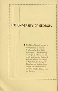 "The Cypress Knee, 1934, ""The University of Georgia"", pg. 50"
