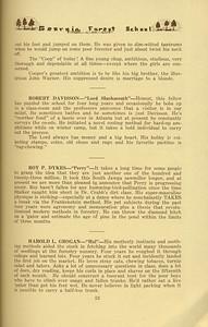 "The Cypress Knee, 1934, ""Seniors-Packin' Out"", Robert Davisson, Roy P. Dykes, Harold L. Grogan, pg. 53"