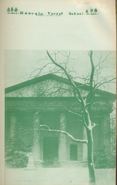 The Cypress Knee, 1935, Georgia Forest School, pg. 45