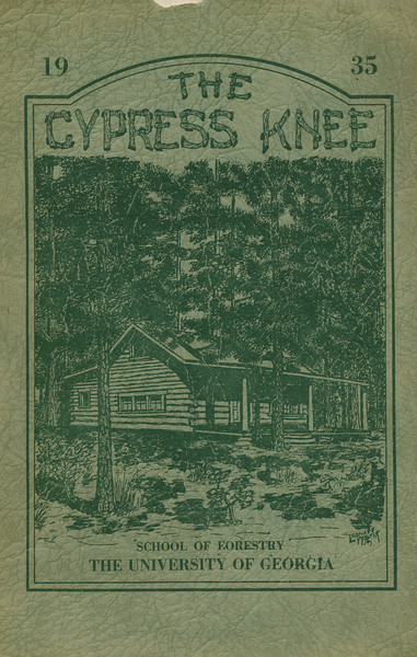 The Cypress Knee, 1935, Front Cover