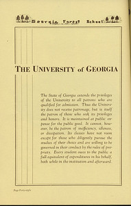 "The Cypress Knee, 1936, ""The University of Georgia"", pg. 48"