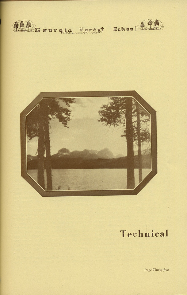 The Cypress Knee, 1936, 'Technical' Introduction, pg. 35