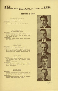 The Cypress Knee, 1936, Senior Class, Frederick Carlos Gragg, Joe R. Gramling, Giles G. Hall, Jack M. Jones, Evan K. Major, pg. 11