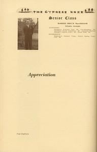 The Cypress Knee, 1937, Senior Class (continued), Robert Bruce MacGregor, pg. 18