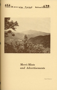 The Cypress Knee, 1937, Introduction: Merri-Ments and Advertisements, pg. 51