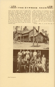 """The Cypress Knee, 1937, """"1936 Senior Forestry Camp"""", pg. 26"""
