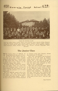 The Cypress Knee, 1937, The Junior Class, pg. 19