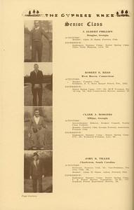 The Cypress Knee, 1937, Senior Class (continued), J. Elbert Phillips, Robert E. Reed, Clark A. Rodgers, John R. Tiller, pg. 16