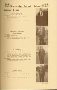 The Cypress Knee, 1937, Senior Class (continued), H. A. Martin, Charles A. Meaders, E. L. Molpus, J. Rex Nance, pg. 15