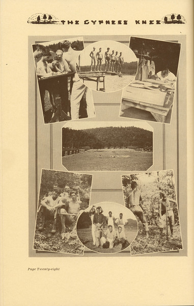 """The Cypress Knee, 1937, """"Summer Camp of 1963"""", pg. 28"""