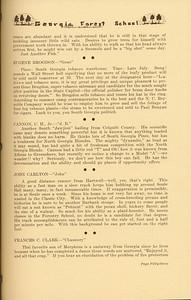 "The Cypress Knee, 1937, ""Tumblin' Out"" (continued), Eugene Brogdon, C. H. Cannon, John Carlton, Frances C. Clark, pg. 53"