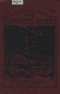 The Cypress Knee, 1938, Front Cover