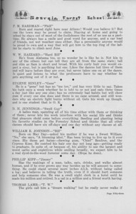 "The Cypress Knee, 1938, ""A. Z. Says"" (continued), P. M. Hardman, W. W. Hazzard, Eugene Hinley, D. M. Jennings, William R. Johnson, Phillip Kipp, Thomas Lamb, pg. 53"