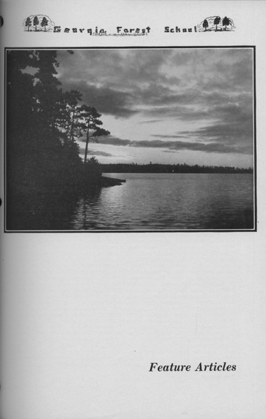 The Cypress Knee, 1938, Introduction to Feature Articles, pg. 41