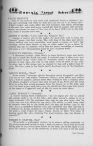 "The Cypress Knee, 1938, ""A. Z. Says"" (continued), Frank Bennett, ALbert P. Boyd, Chauncey Brooks, Norton Buell, Carey Burnett, Robert R. Cater, pg. 49"